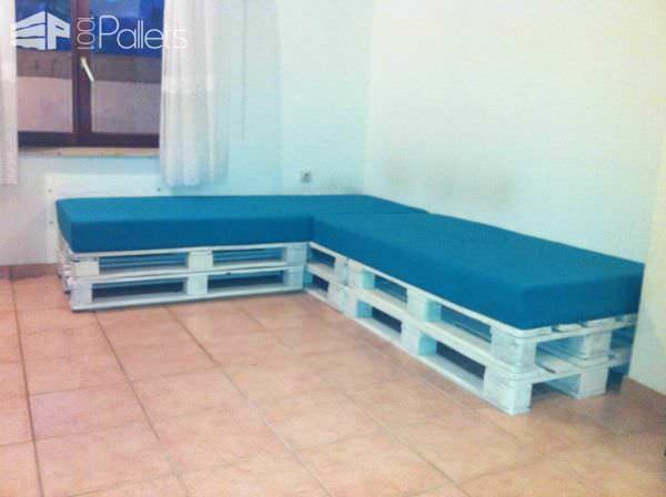 Pallets Sofa Pallet Sofas & Couches