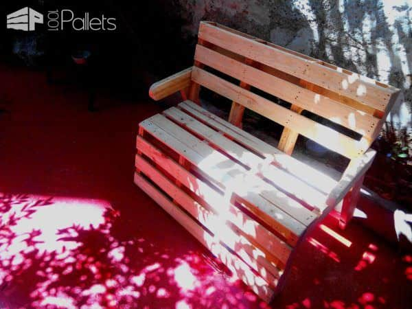 R & P, Almost B Couch…pallets Bench Pallet Benches, Pallet Chairs & StoolsPallets in the Garden