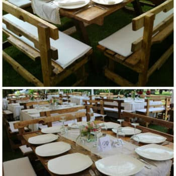 Wedding Pallets Table