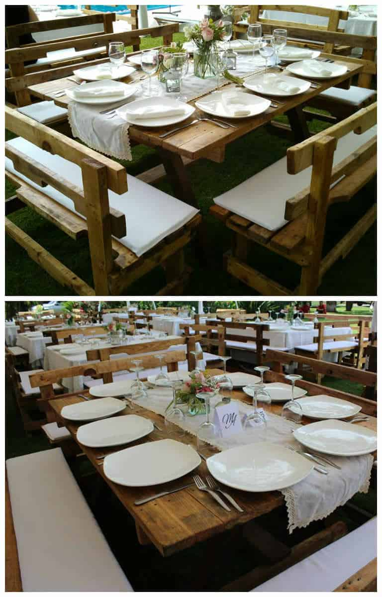 Wedding Pallets Table 1001 Pallets