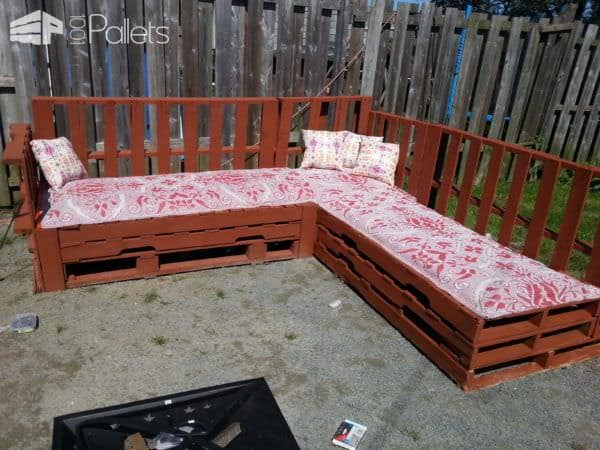 Pallets Sofa Around The Fire Pit Lounges & Garden Sets Pallet Sofas