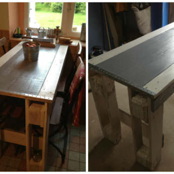 Kitchen Pallets Table