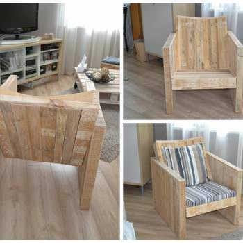 Pallet Club Armchair