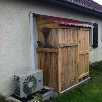 Pallets Garden Shed