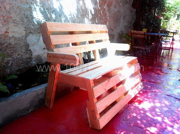 R & P, Almost B Couch...pallets Bench Pallet Benches, Pallet Chairs & Pallet Stools Pallets in The Garden