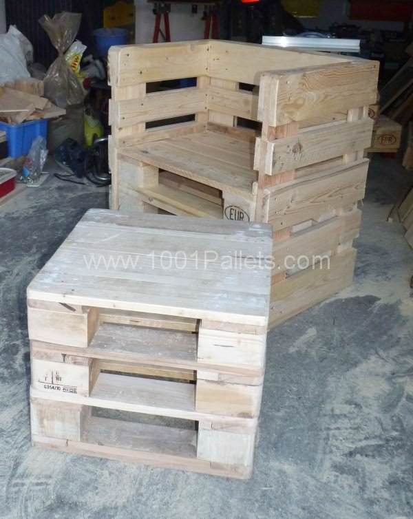 Coffee Table & Pallet Chairs Pallet Benches, Pallet Chairs & Stools Pallet Coffee Tables