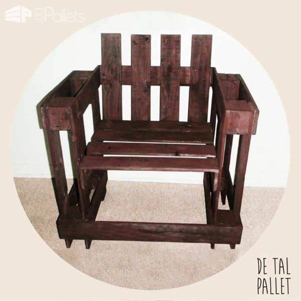 DE TAL Pallet Pallet Benches, Pallet Chairs & Pallet Stools Pallet Coffee Tables
