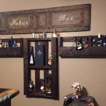 Bar Bottle Holders
