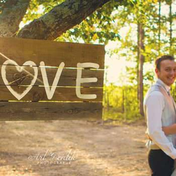 Love Is All Pallet Wedding Canvas