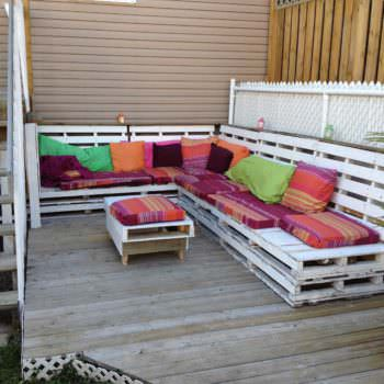 Pallets Bench To Relax