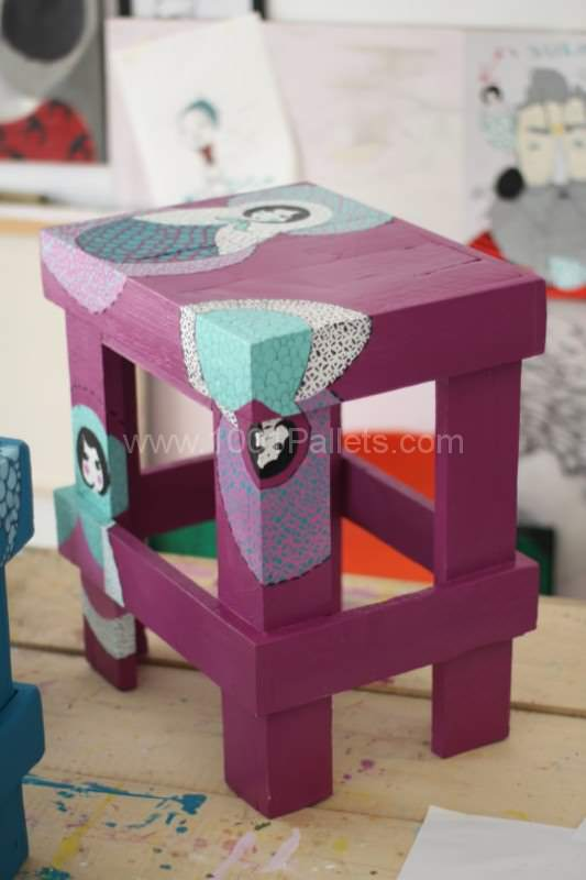 Little Rocks - Upcycling Projects Pallet Desks & Pallet Tables