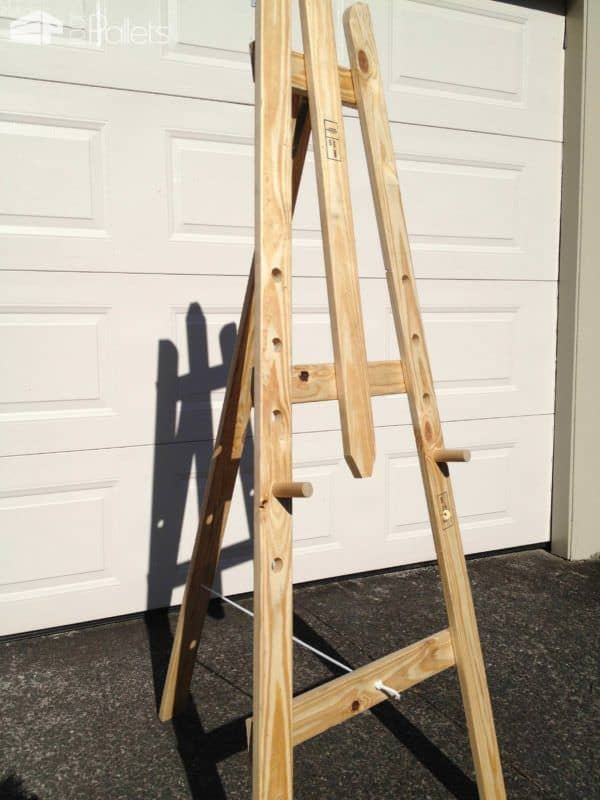 Art Easel – Made From Repurposed Pallet Timber Pallet Home Accessories
