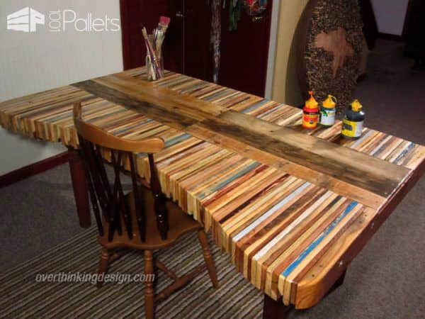 Creative Pallets Table Pallet Desks & Pallet Tables