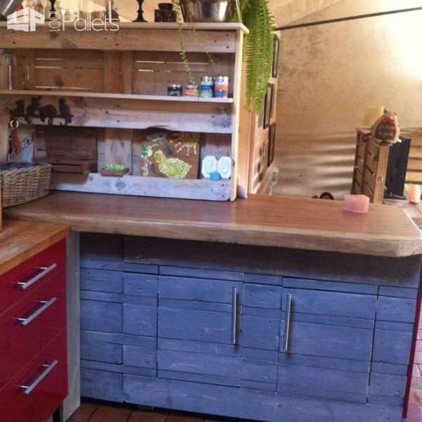 el ment de cuisine pallets kitchen element 1001 pallets. Black Bedroom Furniture Sets. Home Design Ideas