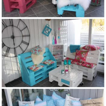 Garden Furniture Made Out Of Recycled Pallets