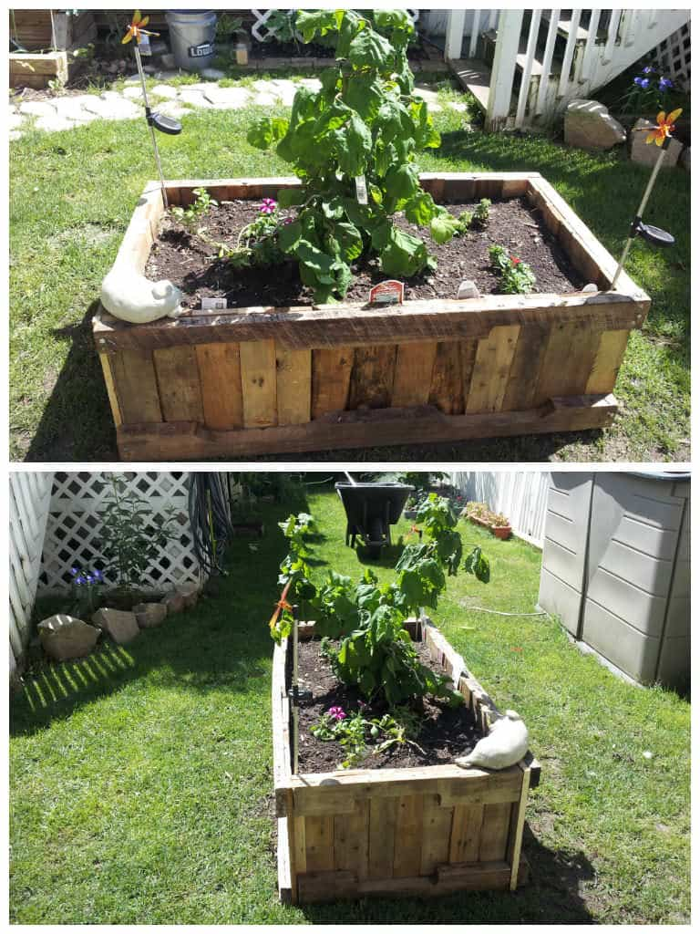 Pallet Raised Planter 1001 Pallets
