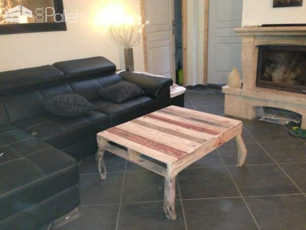 Pallets Coffee Table / Table Basse Pallet Coffee Tables