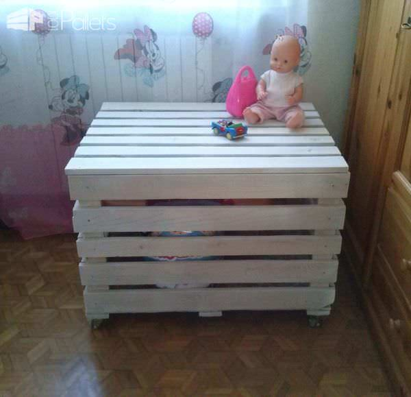 Toys Pallet Box Fun Pallet Crafts for Kids Pallet Boxes & Chests
