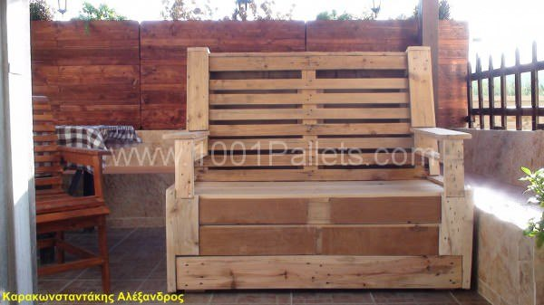 My Pallet Bench Pallet Benches, Pallet Chairs & Stools