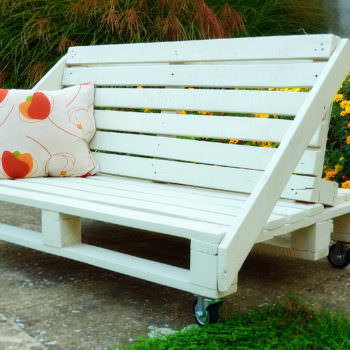 Pallets Bench Sofa