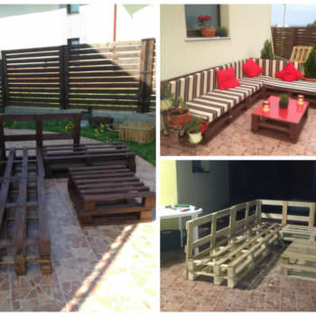 3 Steps To Make This Pallet Sofa
