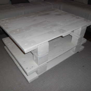 White Small Living Room Table