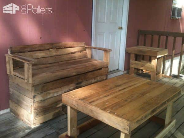 Outdoor Pallets Lounge For My Terrace Lounges & Garden Sets