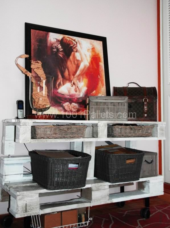 Commode De Chambre / Chest Of Drawers Pallet Boxes & Pallet Chests