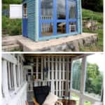 Beautiful Pallet Shed / Summerhouse