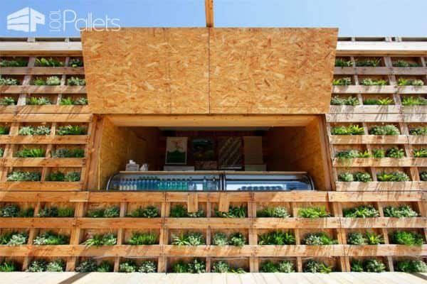 Caban Beach House: When Pallets Meets Design Pallet Store, Bar & Restaurant Decorations
