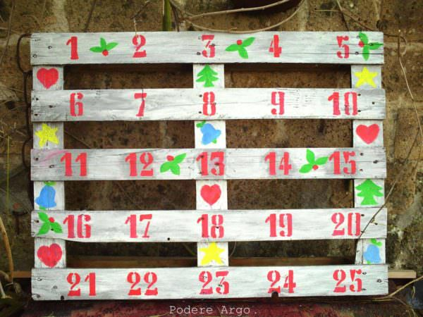 Christmas Advent Calendar 1001 Pallets