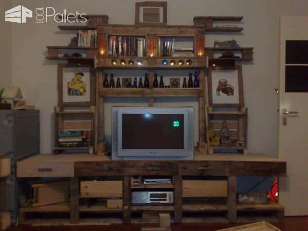 High Table Or Bar Table DIY Pallet Bars Pallet Desks & Pallet Tables
