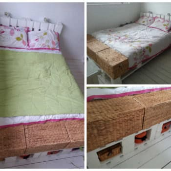 King Size Pallet Bed
