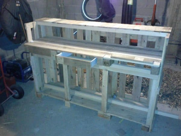 Kitchen Pallet Worktop Pallet Bars