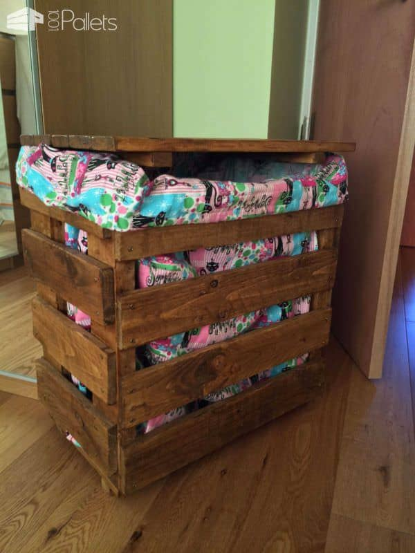 Laundry Basket Pallet Boxes & Chests