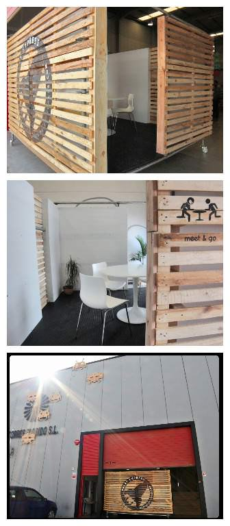 Meet & Go: Pallet Room