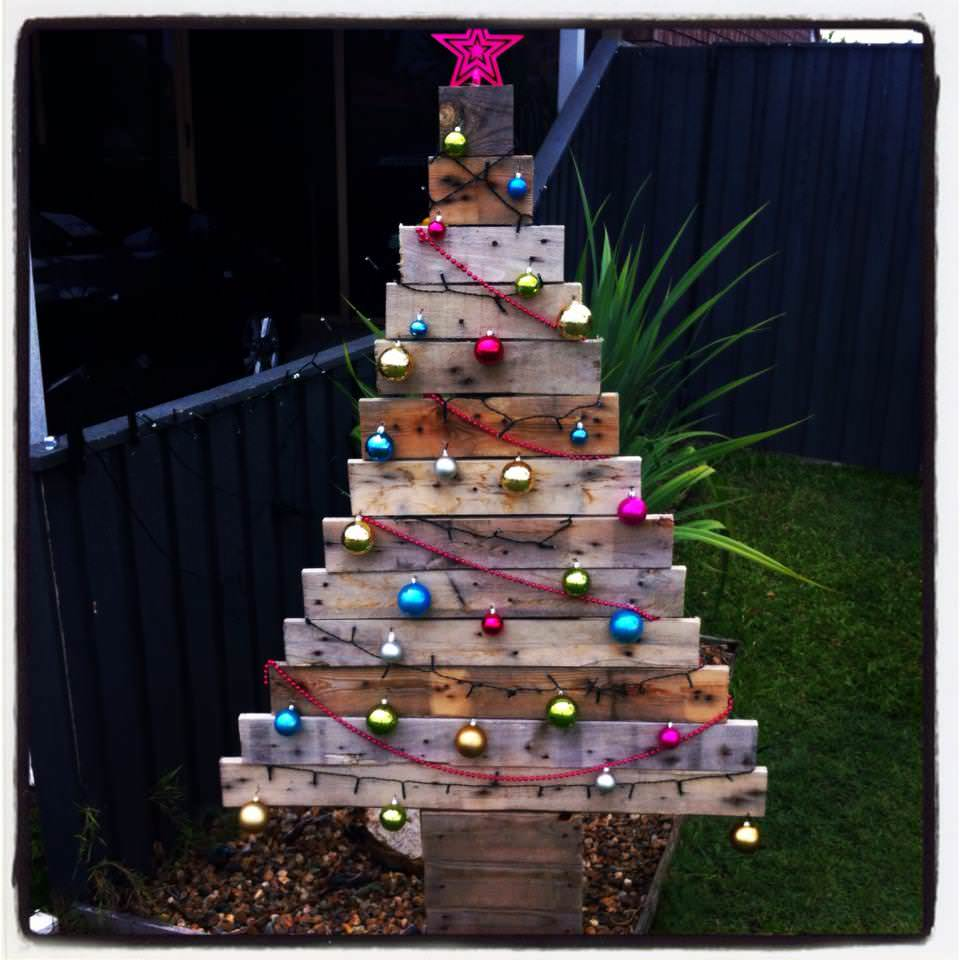 Pallet Christmas Tree 1001 Pallets