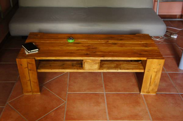 Pallet Coffee Table / Table Basse Pallet Coffee Tables