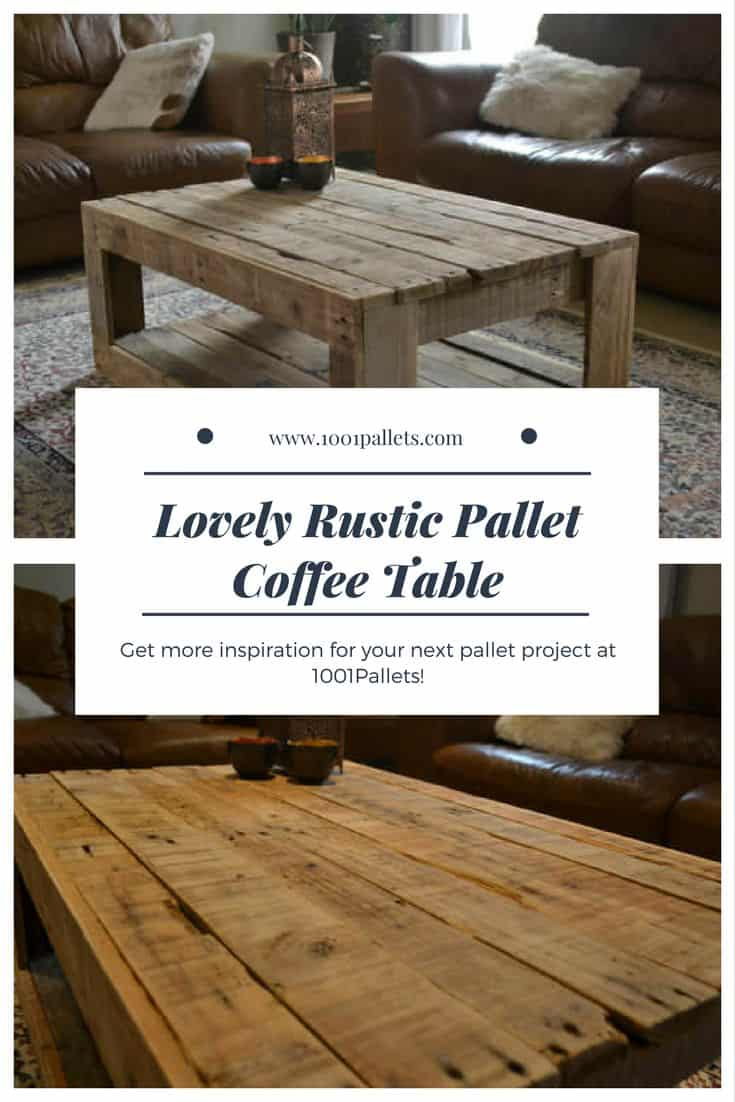 Rustic pallet coffee table 1001 pallets geotapseo Gallery