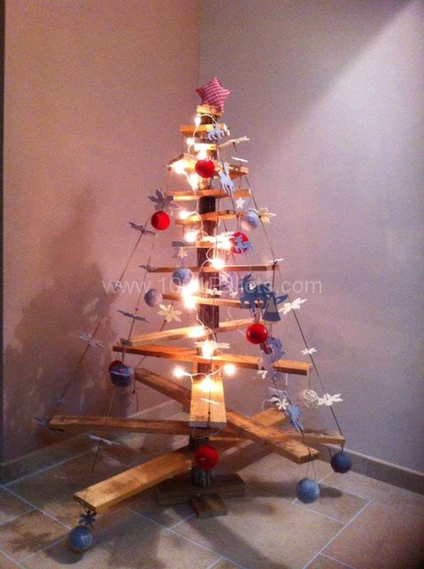 Oh Christmas Tree Pallet Home Accessories