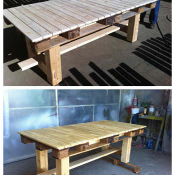 Amazing Pallet Table