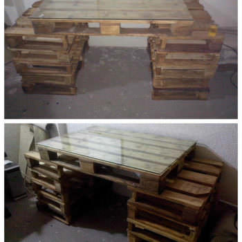 Pallet Work Table