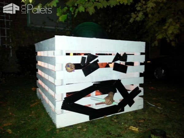 Halloween Pallet Pumpkin Fun Pallet Crafts for Kids