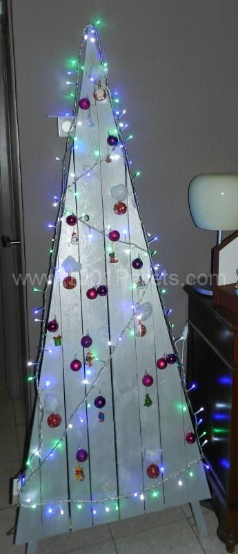 Modern Pallet Christmas Tree Pallet Home Accessories