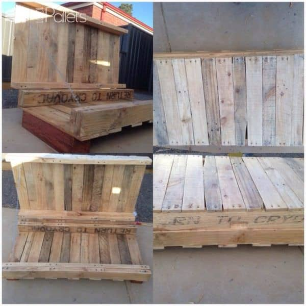 Australian Pallets Upcycling Lounges & Garden Sets Pallet Clocks