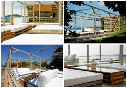 Caban Beach House: When Pallets Meets Design