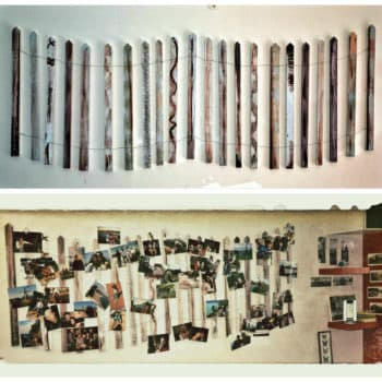 Diy: Pallet Picture Wall