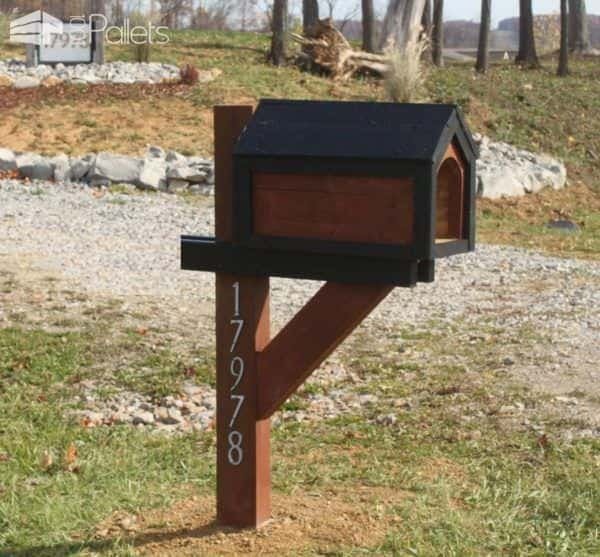 Mailbox From Recycled Pallets Lounges & Garden Sets