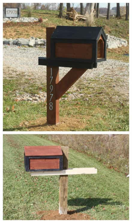 Mailbox From Recycled Pallets