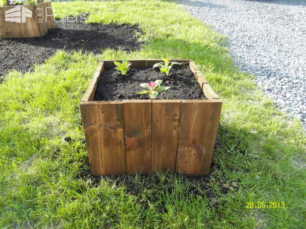 Pallet Flowers & Vegetables Planters Pallet Planters & Compost Bins